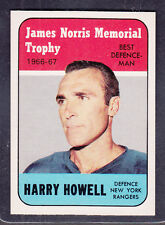HARRY HOWELL 1967-68 O PEE CHEE Card # 119 MINT/GEM MINT (2)