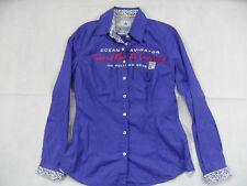 GAASTRA schöne Bluse blau Gr. S TOP 618