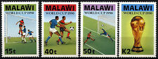 Malawi 1990 SG#838-841 World Cup Football MNH Set #D42815