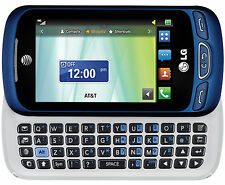 AT&T LG C410 Xpression Cellular Phone Slider Bluetooth Camera Video