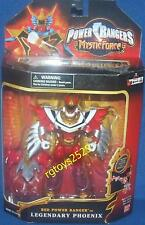 Power Rangers Mystic Force Red Power Ranger to Legendary Pheonix New 2006