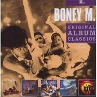 """BONEY M. """"ORIGINAL ALBUM CLASSICS"""" 5 CD NEW"""