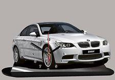 voiture miniature en horloge, BMW M3 E92 -01