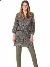 Boho 3/4 Sleeve Plus Size Dresses for Women