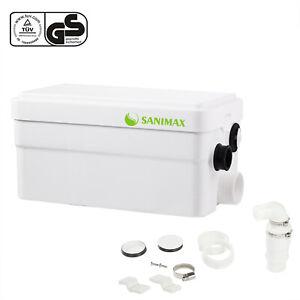 Broyeur Sanimax Sanitaire Pompe Super Silencieux Douche 250W avec 2 Entrée