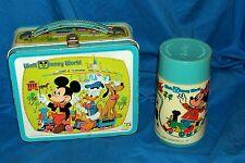 Walt Disney World Happy 50 Years Metal Lunchbox Disneyland Mickey Mouse Pluto