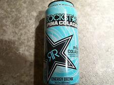 Energy drink, Rockstar, (1 full can) Pina colada, 16 Oz, ee. UU.