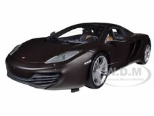 2011 MCLAREN MP4-12C MATT BLACK LIMITED TO 750PC 1/18 BY MINICHAMPS 110133021