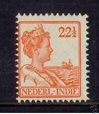 Ned indie  123  22,5 ct oranje postfris MNH luxe