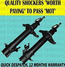 FRONT SHOCK ABSORBER PAIR FITS X-TRAIL XTRAIL 2.0 2.2 2.5 2001-2007 NT30