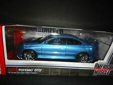 Auto World Pontiac GTO 2004 Blue 1/18