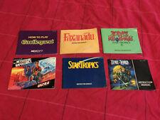 Nintendo NES Manuals, Inserts & Box Art