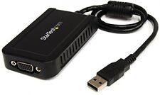 StarTech. com USB a VGA Adaptador de monitor externo de múltiples de la tarjeta de video y ndash; -