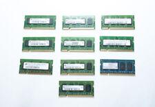Lotto Memoria RAM sodimm 10x512MB PC2-4200S DDR2 533mhz per portatili notebook