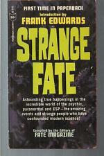 STRANGE FATE ~ PAPERBACK LIBRARY 52-818 1965  EDITORS FATE MAGAZINE OCCULT