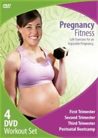New: PREGNANCY FITNESS - 4 DVD Workout, Exercise Set