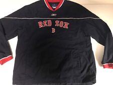 Boston Red Sox Pullover Windbreaker XL by Reebok MLB