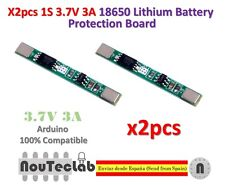 2pcs 1S 3.7V 3A li-ion BMS PCM battery protection board 18650 lithium battery