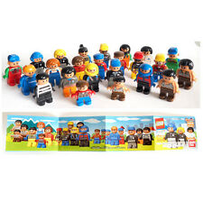 Lego Explore - Bandai Gashapon - complete set of 24 characters