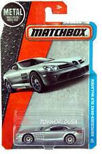 2017 Matchbox #29 MBX City Adventure Mercedes-Benz SLR McLaren