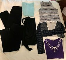Women's Lot of Clothes - With 7 Items All Size Medium