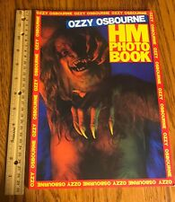Ozzy Osbourne/ Photo Book/ 1983/ Shinko/ Beautiful Condition/ Randy Rhoads/ Look