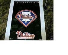New listing NOS ESTATE FIND NO PINHOLES MINT 1994 PHILADELPHIA PHILLIES BASEBALL LOGO POSTER