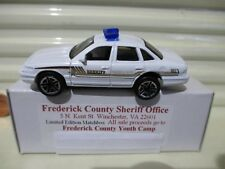 Matchbox 2003 FREDERICK COUNTY VIRGINIA SHERIFF Ford Crown Victoria New Boxed