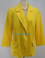 Talbots woman dress Blazer suit Coat chic light Jacket 1 button SIZE 18W Fit 16W