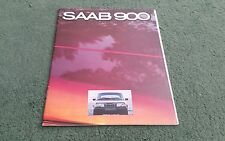 1980 1979 SAAB 900 UK BROCHURE GL GLS EMS GLE TURBO 3 5 DOOR Reg Morris Stamp