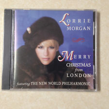 MORGAN, LORRIE - MERRY CHRISTMAS FROM LONDON - BRAND NEW CD