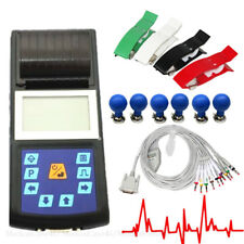 Handheld ECG Machine Digital Electrocardiograph Single Channel EKG Printer New
