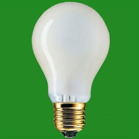 6x 60W(=85W) Pearl Halogen GLS Energy Saving Light Bulb ES E27 Edison Screw Lamp