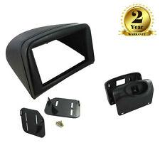 CT23PE08 Black Double Din Fascia Adaptor Panel for Peugeot 206 1998 - 2009