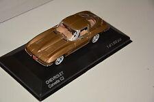 Chevrolet Corvette C2 Stingray gold  White Box 1:43