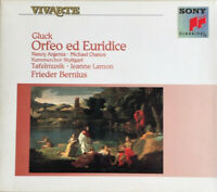 C. W. GLUCK   ORFEO ED EURIDICE   TAFELMUSIK, N. ARGENTA U.A.   ℗ 1992 Sony 2CD