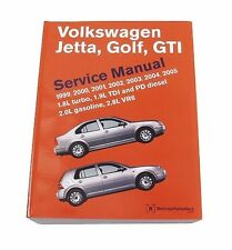 NEW Volkswagen Golf GTI Jetta 99-05 Bentley Repair Manual VW 800 0119