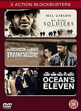 Oceans Eleven/We Were Soldiers/Training Day [DVD] [2002], , Used; Good DVD