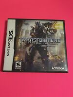 🔥 Transformers: Autobots (Nintendo DS, 2007) 💯 COMPLETE WORKING GAME - FUN 🤩