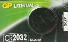 GP CR2032 BATTERY FOR MOTHERBOARD/ CMOS.  FREE 1ST CLASS P&P UK