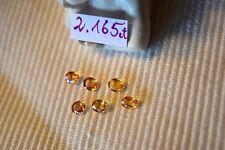 Saphir facettiert lot 2,165ct.! Edelstein Schmuck Ceylon Saphir Gems Korund Gelb