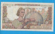 Gertbrolen 10 000 FRANCS ( Génie Français )  du 5-4-1951  L.1365