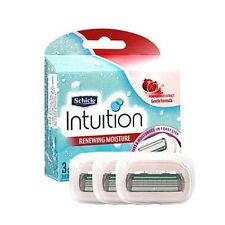 Schick Intuition Moisture Razor Refill Cartridge 4 Blades woman women shave