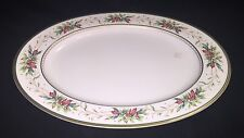 Fitz and Floyd Winter Holiday Oval Serving Platter