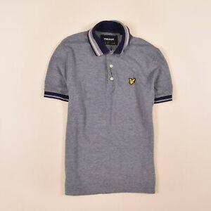 Lyle & Scott Herren Polo Poloshirt Shirt Gr.S  Mehrfarbig, 74040