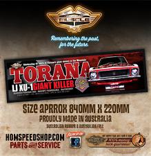 HOLDEN TORANA GTR XU-1 45TH ANNIVERSARY - TORANA GTR XU-1 BROCK BAR RUNNER