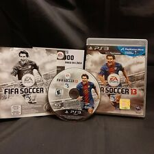 FIFA Soccer 13 PS3 Sony PlayStation 3, 2012 CIB Complete