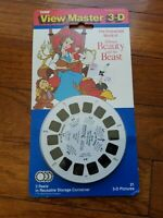 Tyco View Master 3-D Disney's Beauty And The Beast. 1992 Vintage Sealed. H