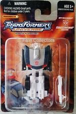 TRANSFORMERS UNIVERSE SPY CHANGERS SILVERSTREAK new
