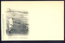 RARE Carte Postale Ancienne LES SABLES d'OLONNE (Vendée) Un PETIT BAIGNEUR